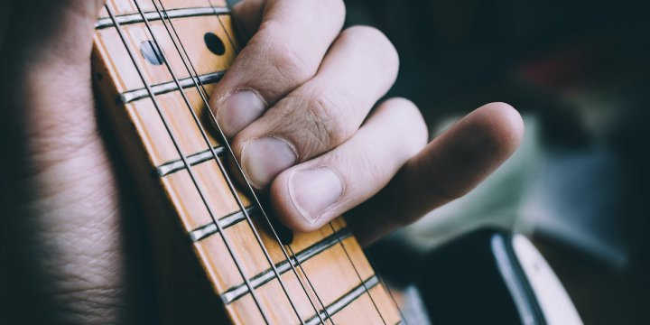 小指を鍛える