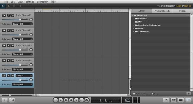Untitled Song — Soundation Studio