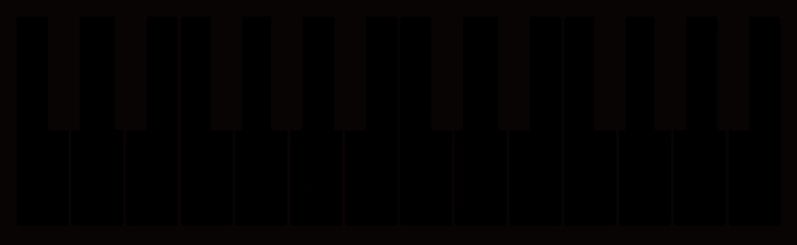 ピアノ鍵盤ドレミファソラシド
