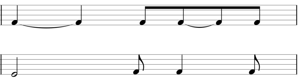 リズム譜5