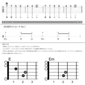 オンラインギターレッスン初心者テキスト