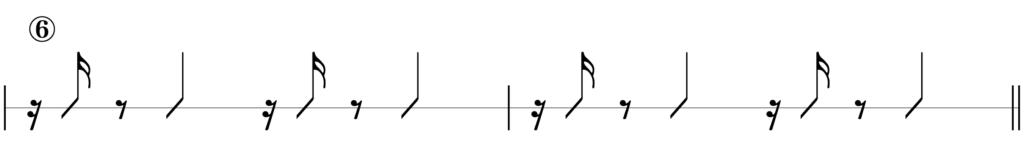 リズムキープテスト6