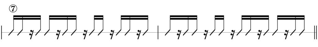 リズムキープテスト7