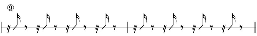 リズムキープテスト9